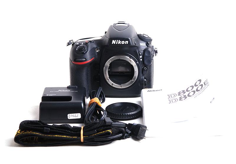 Nikon D800 Full Frame Camera Body Black Japanese Version