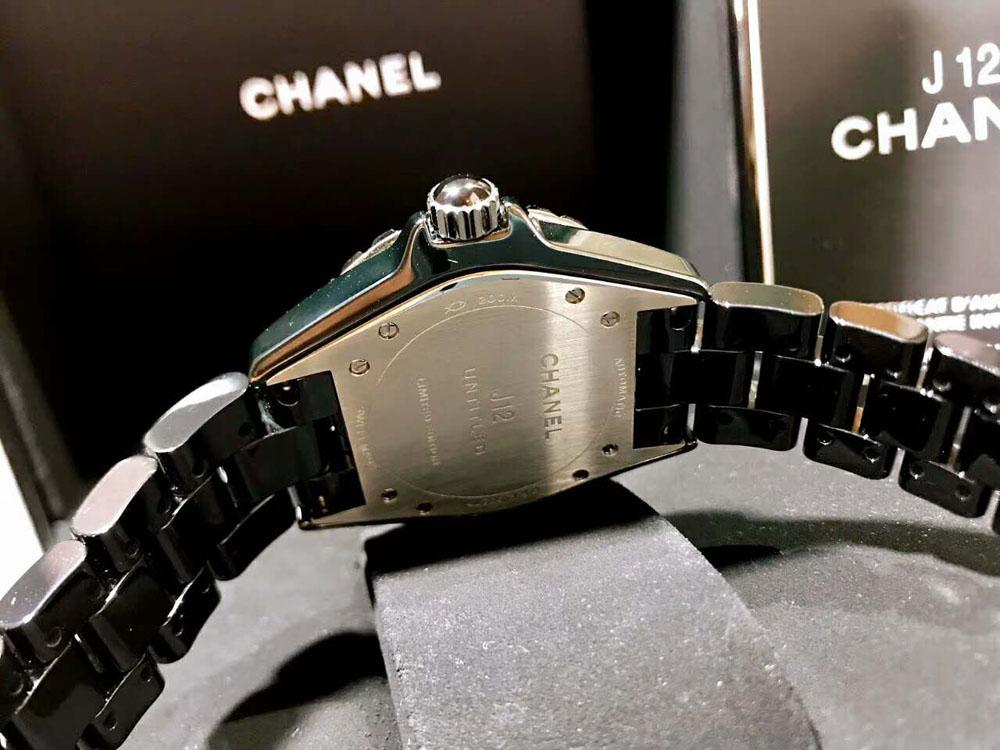 newest b8ec7 670fe CHANEL/香奈儿J12系列H5581黑色高科技精密陶瓷女装腕表